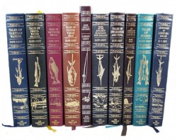 10 Volume Set - Tales of Fishes; Tales of Fishing Virgin Seas; Tales of Southern Rivers; Tales of Fresh Water Fishing; Tales of Swordfish and Tuna; Tales of Tahitian Waters; Tales of Angler's El Dorado New Zealand; An American Angler in Australia; - Product Image