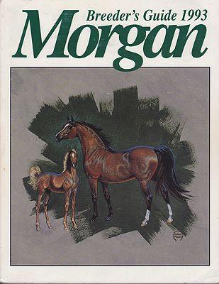 1993 Morgan Breeders GuideNA, NA - Product Image