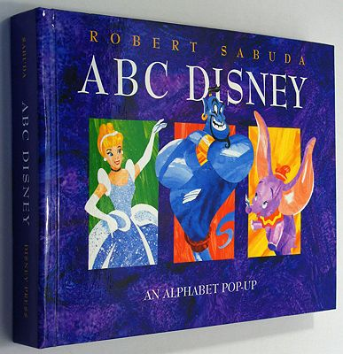 ABC Disney - An Alphabet Pop-upSabuda, Robert, Illust. by: Robert Sabuda - Product Image