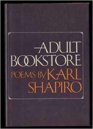 Adult Bookstore: PoemsShapiro, Karl - Product Image