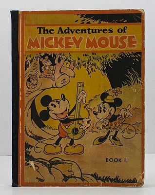 Adventures of Mickey Mouse - Book 1, TheWalt Disney Studio - Product Image