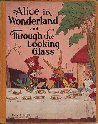 Alice in Wonderland and Through the Looking-Glass Carroll, Lewis , Illust. by: Ninon  MacKnight - Product Image