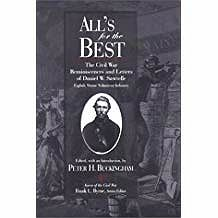 All's for the Best: The Civil War Reminiscences and Letters of Daniel W. SawtelleBuckingham (Editor), Peter H. - Product Image