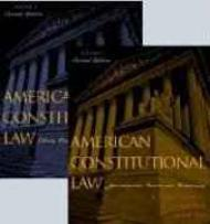American Constitutional Law: Liberty, Community, and the Bill of Rights Volume 2Noam, Et Chomsky - Product Image