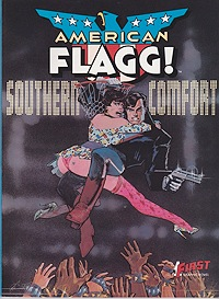 American Flagg! Southern Comfort Chaykin, Howard, Illust. by: Howard  Chaykin - Product Image