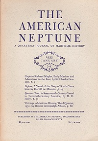 American Neptune: A Quarterly Journal of Maritime History  Volume 13 No. 1-4 1953 (4 Issues)Dodge (Ed.), Ernest S. - Product Image