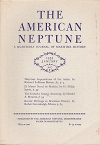 American Neptune: A Quarterly Journal of Maritime History  Volume 15 No. 1-4 1955 (4 Issues)Dodge (Ed.), Ernest S. - Product Image