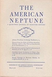 American Neptune: A Quarterly Journal of Maritime History  Volume 17 No. 1-4 1957 (4 Issues)Dodge (Ed.), Ernest S. - Product Image