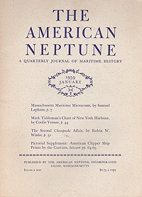 American Neptune: A Quarterly Journal of Maritime History  Volume 19 No. 1-4 1959 (4 Issues)Dodge (Ed.), Ernest S. - Product Image