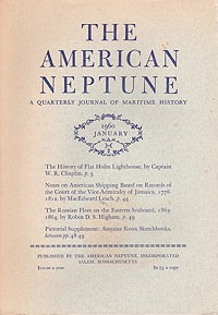 American Neptune: A Quarterly Journal of Maritime History  Volume 20 No. 1-4 (4 Issues)Dodge (Ed.), Ernest S. - Product Image