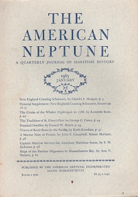 American Neptune: A Quarterly Journal of Maritime History  Volume 23 No. 1-4 1963 (4 Issues)Dodge (Ed.), Ernest S. - Product Image