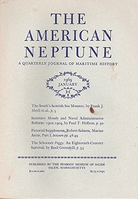 American Neptune: A Quarterly Journal of Maritime History Volume 29 No. 1-4 1969 (4 Issues)Dodge(Ed.), Ernest S. - Product Image
