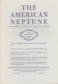 American Neptune: A Quarterly Journal of Maritime History Volume 32 No. 1-4 1972 (4 Issues)Carter (Ed.), John S. - Product Image