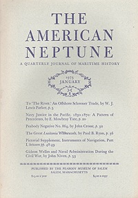 American Neptune: A Quarterly Journal of Maritime History  Volume 35 No. 1-4 (4 Issues)Dodge (Ed.), Ernest S. - Product Image