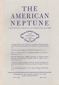 American Neptune: A Quarterly Journal of Maritime History Volume 38 No. 1-4 1978 (4 Issues)Smith (Ed.), Philip Chadwick Foster - Product Image
