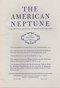 American Neptune: A Quarterly Journal of Maritime History Volume 39 No. 1-4 1979 (4 Issues)Smith (Ed.), Philip Chadwick Foster - Product Image