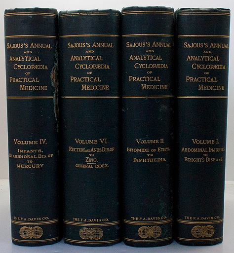 Annual and Analytical Cyclopaedia of Practical Medicine (Volumes 1, 2, 4 and 6)Sajous, Charles E. de M.  - Product Image