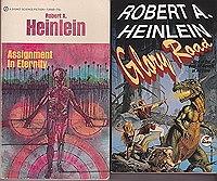 Assignment in Eternity, Glory Road,  Beyond This Horizon, Methuselah's Children (4 paperback novels)Heinlein, Robert - Product Image