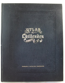 Atlas of Chittenden County VermontBeers, F.W.;  Goerge P. Sanford, et al. - Product Image