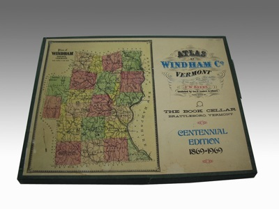 Atlas of Windham County, Vermont - From Actual Surveys by and under the Direction of F. W. Beers, assisted by Geo. P. Sanford & others - Centennial Edition 1869-1969Beers, F. W./Geo. P. Sanford - Product Image