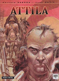 AttilaSegura, Antonio and Jose Ortiz, Illust. by: Jose Ortiz - Product Image