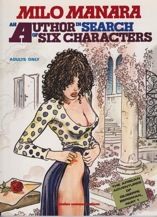 Author in Search of Six Characters, AnManara, Milo , Illust. by: Milo Manara - Product Image