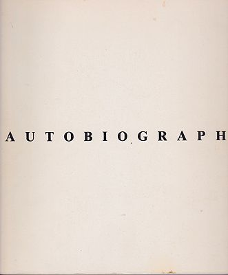 Autobiography 1980Lewitt, Sol - Product Image