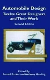 Automobile Design: Twelve Great Designers and Their WorkBarker, Ronald - Product Image