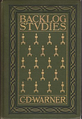 Backlog StudiesWarner, Charles Dudley, Illust. by: Edward  Garnett - Product Image