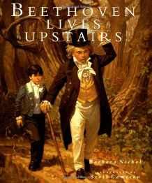Beethoven Lives UpstairsNichol, Barbara, Illust. by: Scott Cameron - Product Image