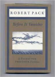 Before It Vanishes: A Packet for Professor PagelsPack, Robert - Product Image