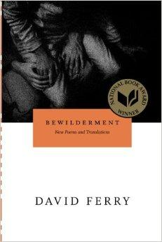 Bewilderment: New Poems and TranslationsFerry, David - Product Image