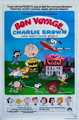 Bon Voyage, Charlie Brown (MOVIE POSTER)N/A - Product Image