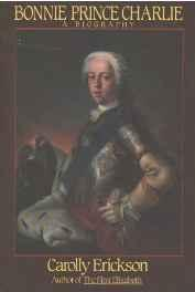 Bonnie Prince Charlie: A BiographyErickson, Carolly - Product Image