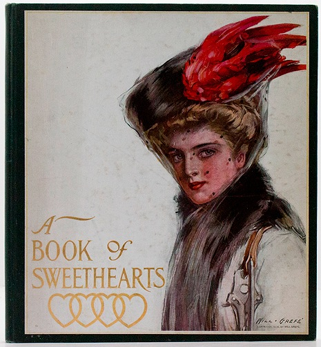 Book of Sweethearts - Pictures By Famous American Artists, Avarious artists - Product Image