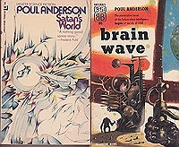 Brain Wave, Satan's World, The Horn of Time, Time and Stars (4 paperback novels)Anderson, Poul - Product Image