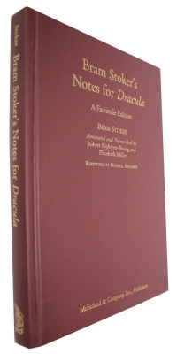 Bram Stoker's Notes for Dracula - A Facsimile EditionStoker, Bram/Robert Eighteen-Bisang & Elizabeth Miller (Editors) - Product Image