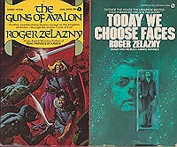 Bridge of Ashes, Doorways in the Sand, Guns of Avalon, Today We Have Faces (4 paperback novels)Zelazny, Roger  - Product Image