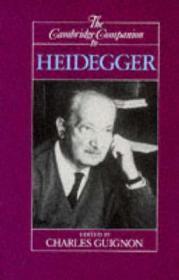 Cambridge Companion to Heidegger, TheGuignon, Charles (Editor) - Product Image