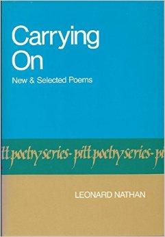 Carrying on: New and Selected Poems (Pitt Poetry Series)Nathan, Leonard - Product Image