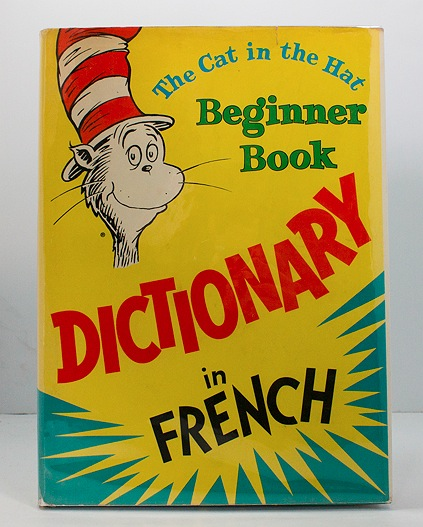 Cat in the Hat Beginner Book Dictionary in French, TheVallier, Jean/Odette Filloux/P. D. Eastman - Product Image