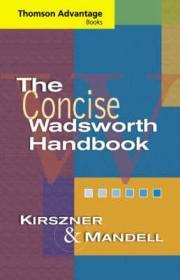 Cengage Advantage Books: The Concise Wadsworth HandbookKirszner, Laurie G. - Product Image