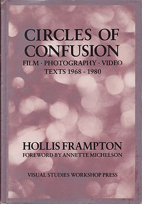 Circles of Confusion: Film-Photography-Video: Texts 1968-1980Frampton, Hollis - Product Image