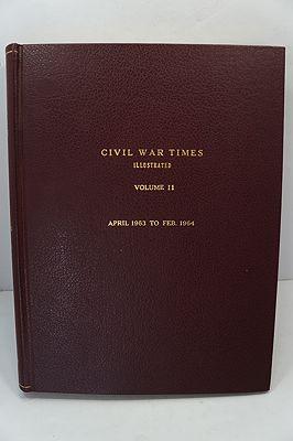 Civil War Times Illustrated: Volume II - April 1963 to Feb. 1964Fowler (Ed.), Robert - Product Image