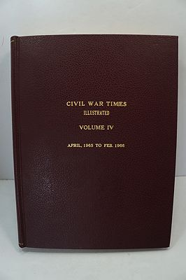 Civil War Times Illustrated: Volume IV - April 1965 to Feb. 1966Fowler (Ed.), Robert - Product Image