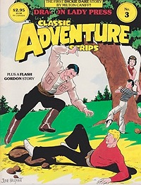 Classic Adventure Strips No. 3: The First Dickie Dare Story plus a Flash Gordon StoryCaniff, Milton, Illust. by: Milton  Caniff - Product Image