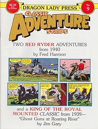 Classic Adventure Strips No. 9: Red Ryder - Two Adventures from 1940Harman, Fred, Illust. by: Fred  Harman - Product Image