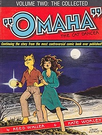 Collected Omaha the Cat Dancer, The - Volume TwoWorley, Kate and Reed Waller, Illust. by: Kate Worley - Product Image