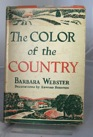 Color of the Country, TheWebster, Barbara, Illust. by: Edward Shenton - Product Image
