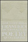 Columbia Granger's Dictionary of Poetry Quotations, The Hazen, Edith (Editor) - Product Image